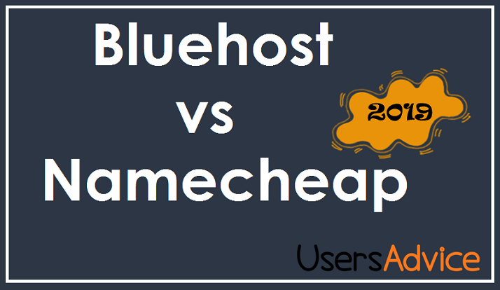 bluehost vs namecheap