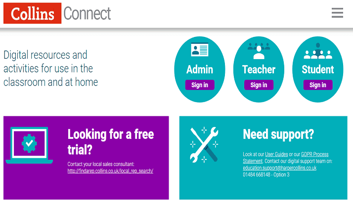 Collins Connect Review: Digital Resources for Students and Teachers