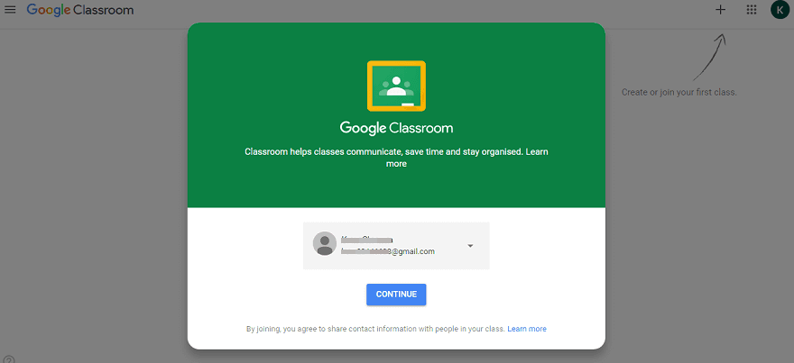 google classroom login and sign in