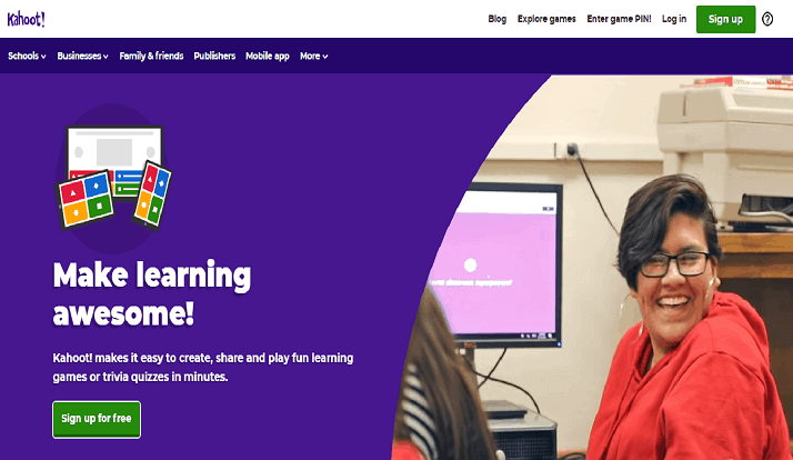 Kahoot The Learning Game – Guide to Create a Quiz & Enter Game Pin to Play