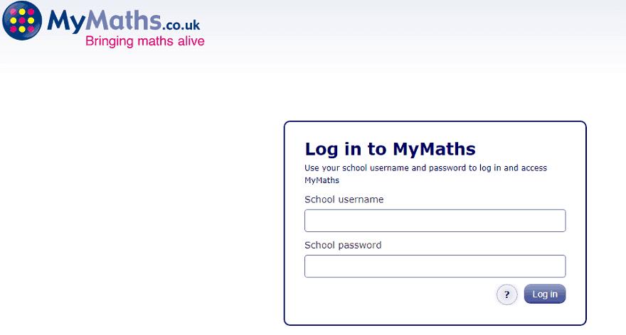 my maths login