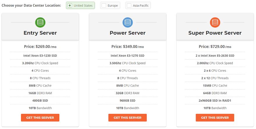 siteground dedicated server