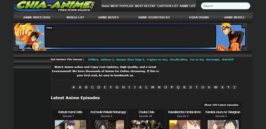 sites like kissanime