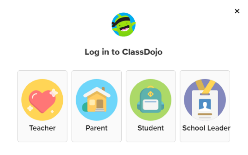 class dojo login