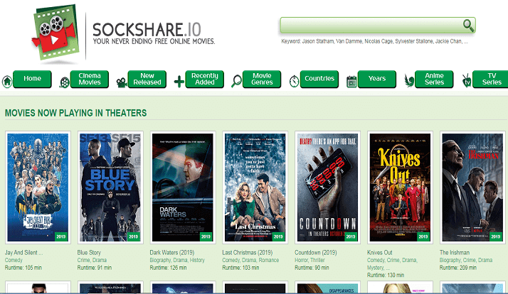Sockshare: Free Movies to Watch Online