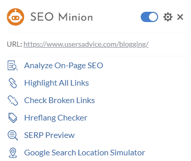 free seo tool for blogging