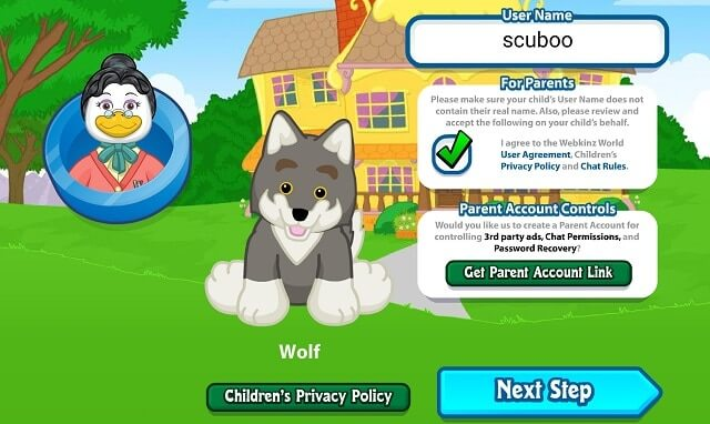 online pet game