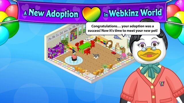 pet game webkinz