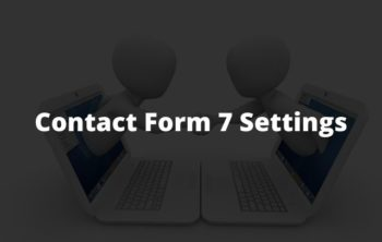 Contact Form 7 Settings