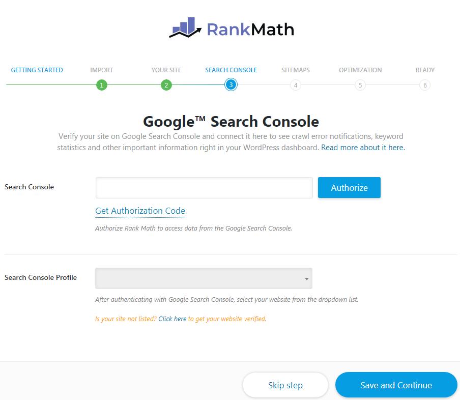 rank math settings