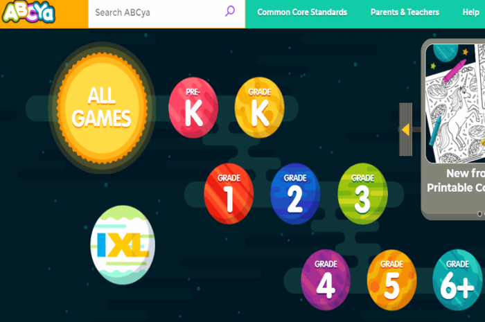 ABCya – Fun Learning Educational Games for Kids